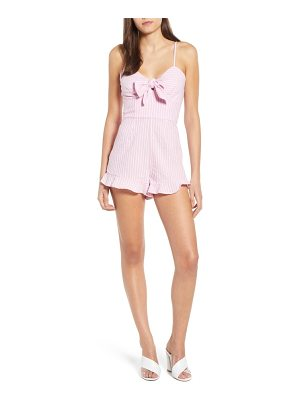 The Fifth Label parcel ruffle hem romper