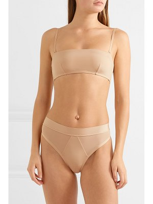 The Great Eros lugano stretch-jersey soft cup bandeau bra
