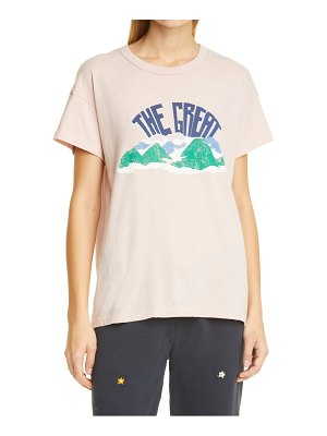 The Great mountain side the boxy crew graphic tee