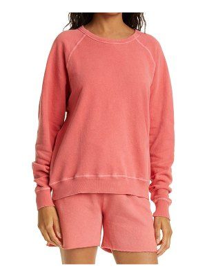 The Great the college french terry sweatshirt
