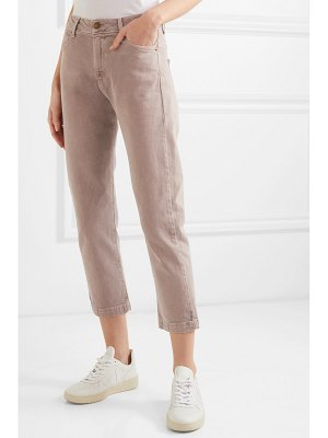 The Great the rambler cropped high-rise jeans