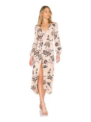 THE JETSET DIARIES Azalea Midi Dress