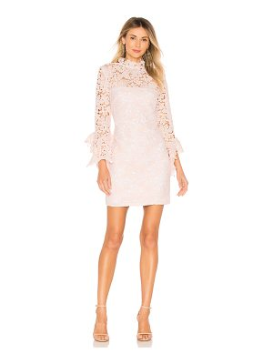 THE JETSET DIARIES Frangapani Lace Mini Dress