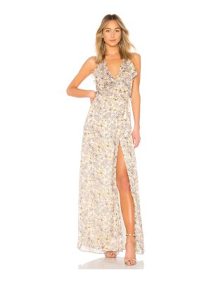 THE JETSET DIARIES Frangapani Maxi Dress