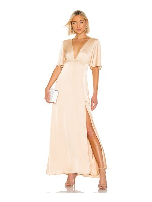 THE JETSET DIARIES here comes the sun maxi dress