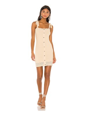 THE JETSET DIARIES love song mini dress