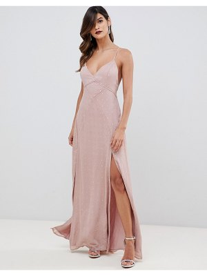 THE JETSET DIARIES rose maxi dress