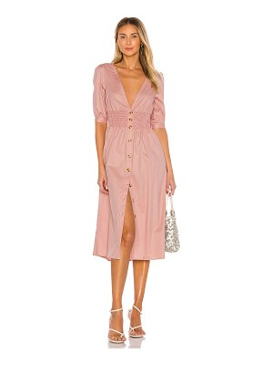 THE JETSET DIARIES tessa midi dress