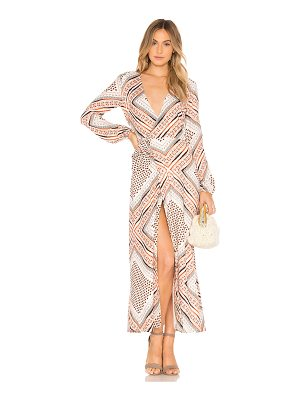 THE JETSET DIARIES Zissou Print Midi Dress