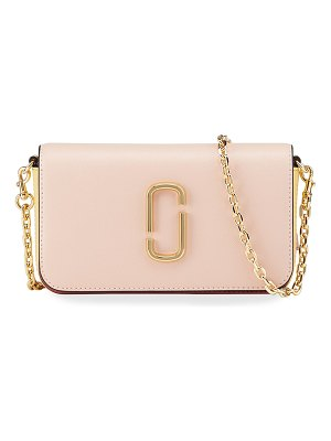 THE MARC JACOBS Colorblock Leather Chain Crossbody Bag
