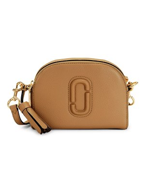 THE MARC JACOBS logo leather crossbody bag