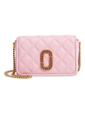 THE MARC JACOBS quilted leather flap crossbody bag