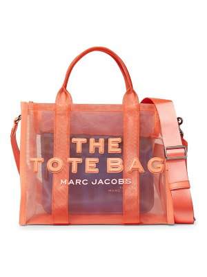 THE MARC JACOBS small traveler mesh tote