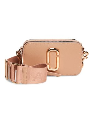 THE MARC JACOBS snapshot leather crossbody bag