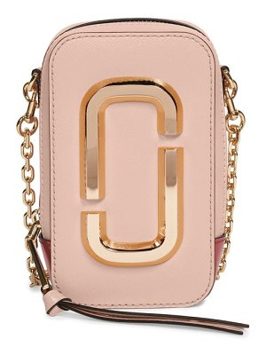 THE MARC JACOBS the hot shot leather crossbody bag