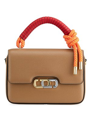 THE MARC JACOBS The J Link Twist Leather Top Handle Bag