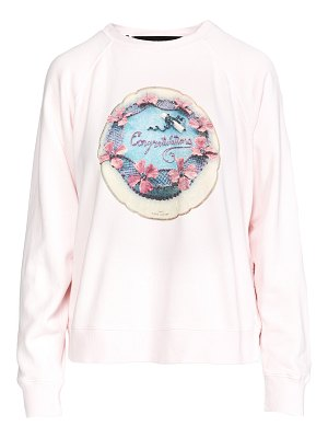 THE MARC JACOBS the shrunken sweatshirt