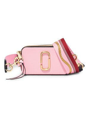 THE MARC JACOBS the snapshot coated leather camera bag