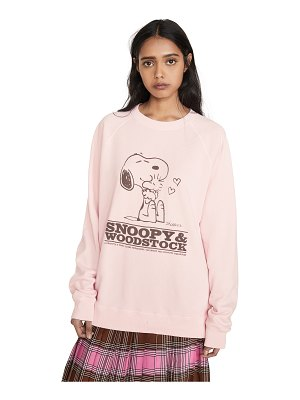THE MARC JACOBS x peanuts snoopy & woodstock sweatshirt