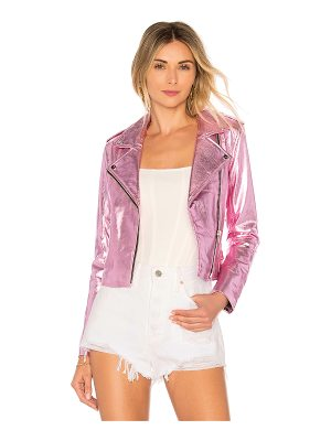 THE MIGHTY COMPANY Lecce The Biker Crop Jacket