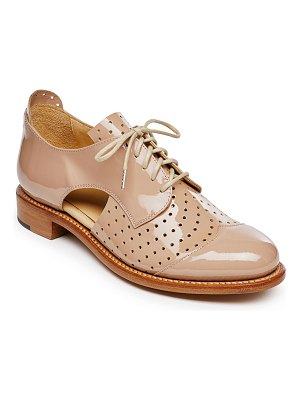 THE OFFICE OF ANGELA SCOTT Mr. Muffin Contrast Derby Oxfords