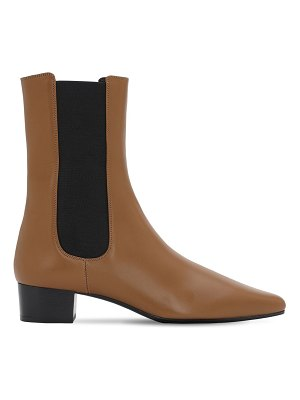 The Row 30mm british leather ankle boots