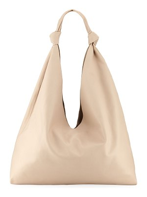 The Row Bindle Double-Knots Leather Hobo Bag