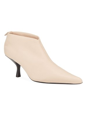 The Row Bourgeoise 65mm Stretch Napa Booties