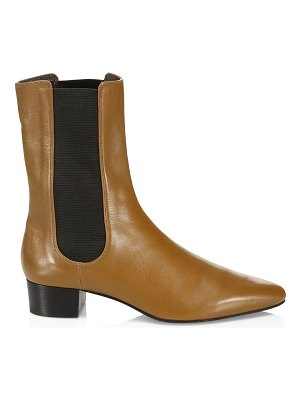 The Row british leather boots