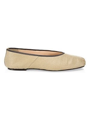 The Row canvas ballet flats