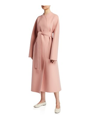 The Row Celete Cashmere Wrap Coat
