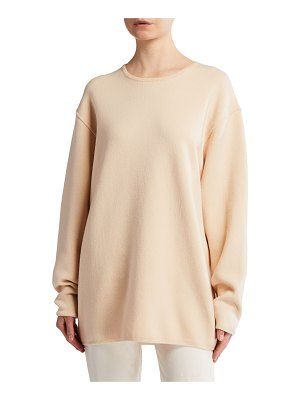 The Row Cohan Merino-Cashmere Oversized Sweater