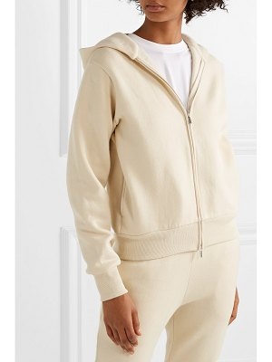 The Row denn cotton-fleece hoodie