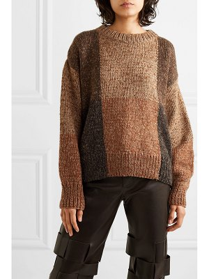 The Row didion cashmere and silk-blend sweater
