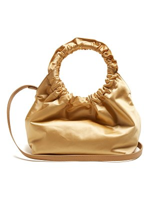 The Row Double Circle Small Satin Bag