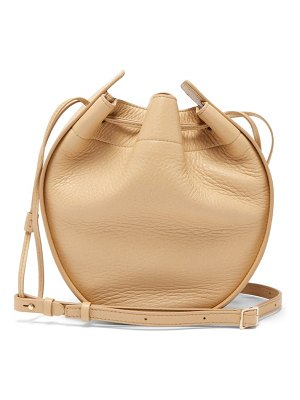 The Row drawstring-pouch leather cross-body bag