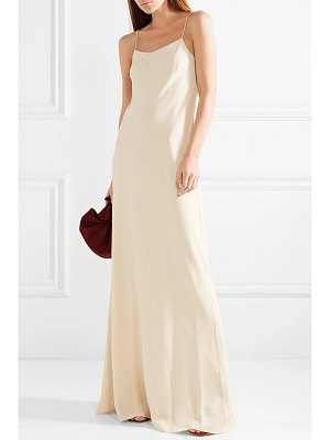 The Row ebbins crepe maxi dress