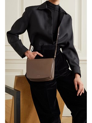 The Row julien large leather shoulder bag