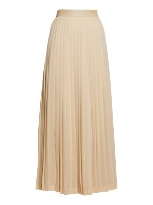 The Row lawrence pleated crepe skirt