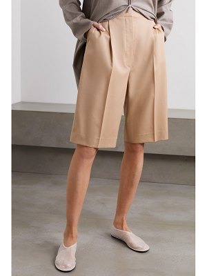 The Row marco wool shorts