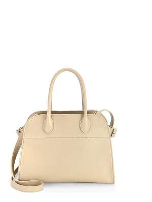 The Row margaux grain leather bag