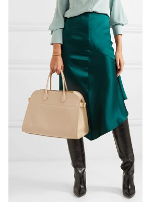 The Row margaux textured-leather tote