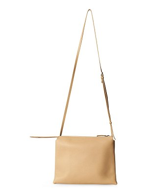 The Row nu twin leather bag