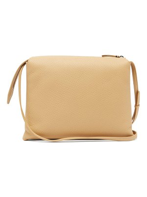 The Row nu twin small leather cross-body bag