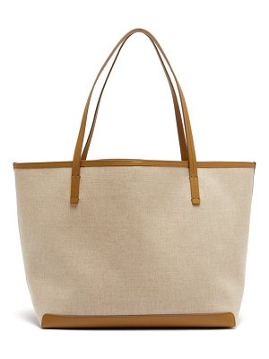 The Row park canvas tote bag
