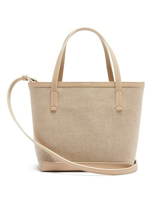 The Row park small canvas tote