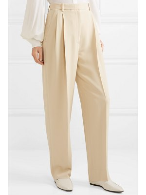 The Row pica cady straight-leg pants