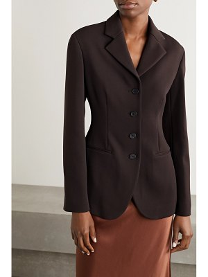 The Row rifka wool-blend crepe blazer