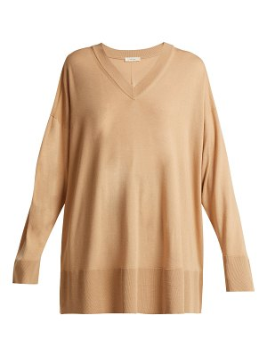 The Row Sabrinah Oversized Fine Wool Sweater