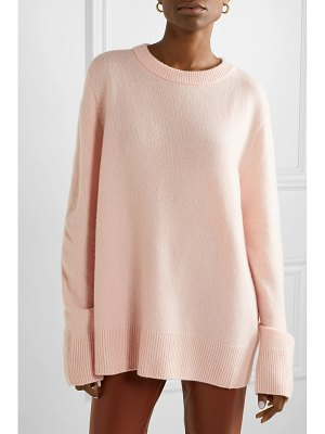The Row sibina wool and cashmere-blend sweater